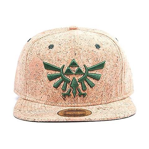 Nintendo Snapback Cap Cork Zelda