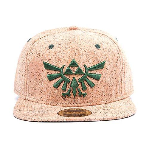 Nintendo Snapback Cap Cork Zelda Logo [Importación Alemana]