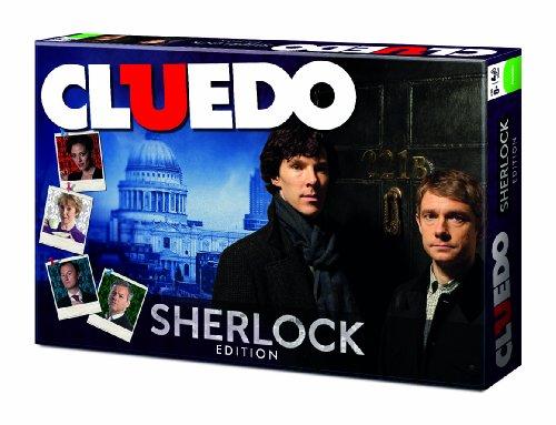 Winning Moves Cluedo Sherlock Edition - Gesellschaftsspiel Holmes Detektiv Spiel Deutsch
