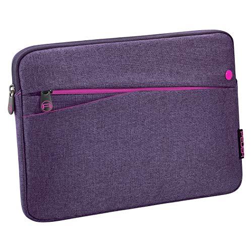 Pedea Tablet PC Tasche für 10,1 Zoll (25,7cm) mit Zubehörfach, lila