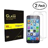Bodyguard 2 Stück Panzerglas Schutzfolie für iPhone 6 Plus / 6S Plus, 9H Härte Displayschutz 99% Ultra-klar für iPhone 6 Plus 6S Plus 5,5'' 3D Touch Kompatibel, Oleophobe Beschichtung gegen Öl