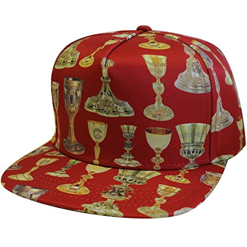 Crooks & Castles Holy Grail Snapback Cap Red