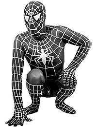 ZYFDFZ Traje de Cosplay Amazing Spiderman Adult Children Negro Versátil  Vestido Ajustado Traje de Fiesta de película (Color   Negro 7eec900e0e57