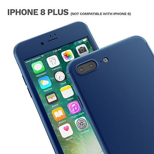 custodia iphone 8 plus vetro temperato