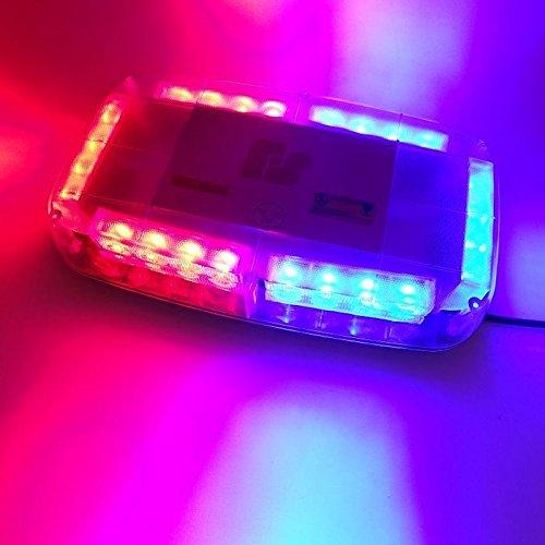Led Strobe Light Car Toit Hazard d'urgence clignotant lampe ampoules Camion véhicule Feux d'avertissement DC 12 V Rouge Bleu