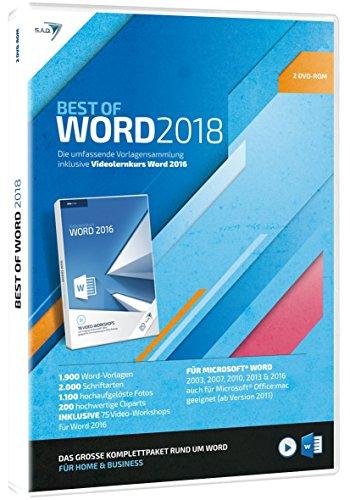 Preisvergleich Produktbild S.A.D Best of Word (2018) mit Videolernkurs (2 CDs)