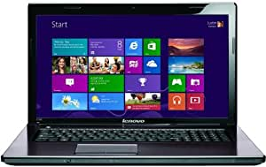 Lenovo Ideapad G780 43,9 cm (17,3 Zoll) Notebook (Intel Core i3 3110M, 2,4GHz, 4GB RAM, 500GB HDD, Intel HD 4000, DVD, Win 8) braun
