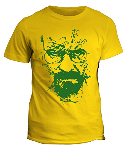 Fashwork tshirt breaking bad - heisenberg - walter white - serie tv - telefilm - in cotone