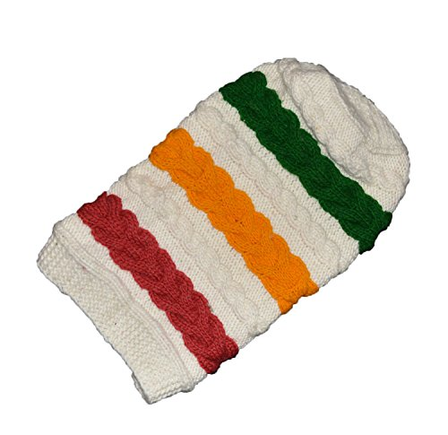 KGM Accessories Große Hand Made Original Cool Rasta Knit Hat Bob Marley