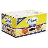 Splenda No Calorie Sweetener Packets, 0.035 oz Packets - 700 packets. by Splenda