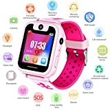 Kids Watch Phone for Boys Girls - Smartwatch with AGPS LBS Tracker SOS