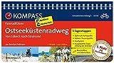 Ostseeküstenradweg 2, von Lübeck nach Stralsund: Fahrradführer mit Routenkarten im optimalen Maßstab. (KOMPASS-Fahrradführer, Band 6004) - Bernhard Pollmann