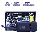 #5: ZAICUS GPS TRACKER Security system CAR, BIKE, TRUCK and BUS real time location tracker (GPS (1 Year Free SIM & Subscription))