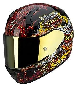 Pompe de Scorpion Exo 410 Hell Hound moto casque