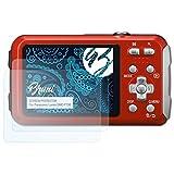 Bruni Schutzfolie für Panasonic Lumix DMC-FT30 Folie - 2 x glasklare Displayschutzfolie