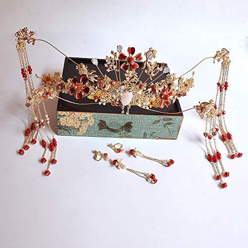 inesischer Kopfschmuck, Toast Kleidung Haarschmuck, Kostüm Phoenix Krone ()