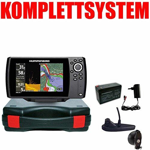 Humminbird Echolot GPS Portabel Basic - Helix 7 Chirp GPS Mega DI G3