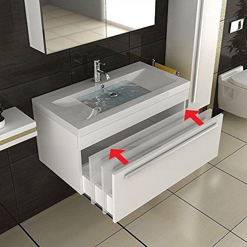 bad1a Waschplatz/Badezimmer Waschtisch/Möbel für´s Bad/Waschbecken / Waschplatz/Modell Garda 900