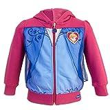 Die Eiskönigin - Frozen - Sweatshirt für Mädchen - 0111HR [Fuchsie Anna - 5 Jahre - 110 cm]