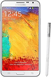 "Samsung Galaxy Note 3 Neo Smartphone, Display 5.5"", Processore Quad-Core 1.3 GHz, Fotocamera 8 MP, Android 4.3, Bianco [Germania"