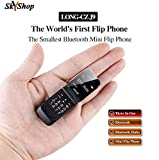 Long-CZ-J9 SKYSHOP World's Smallest Flip Mini Keypad Cell Mobile Phone Support Bluetooth Dialer