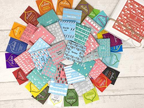 Tee Adventskalender 'ES WEIHNACHTET' Personalisiert - TEEADVENTSKALENDER - Alle Natürlichen Tee