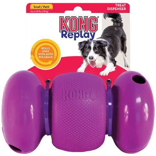 Kong Replay Juguete Interactivo para Perros y Cachorros dispensador de premios