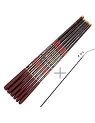 Goture Canne à pêche à la carpe télescopique en fibre de carbone 2,7–7,2mètres