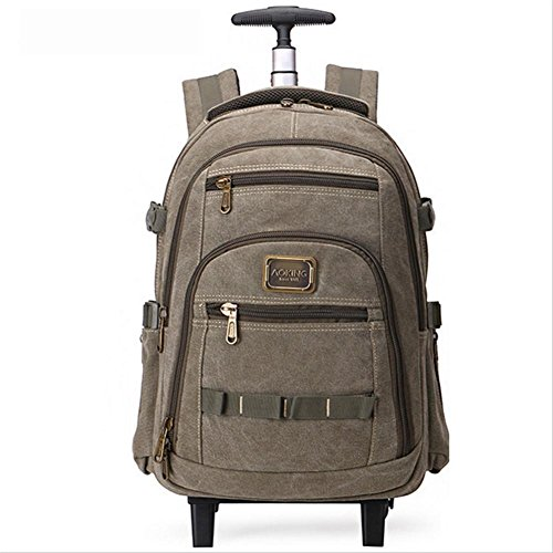 Backpack-Lightweight-2-Wheel-360Rotate-Laptop-Rucksack-156-Backpack-for-BusinessTravelLuggage-Suitcase