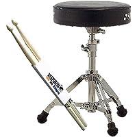SONOR DT 270 Drumhocker + Keepdrum Drumsticks 1 Paar