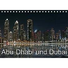 Abu Dhabi und Dubai (Tischkalender 2017 DIN A5 quer): Zwei Motropolen am Persischen Golf (Monatskalender, 14 Seiten ) (CALVENDO Orte)