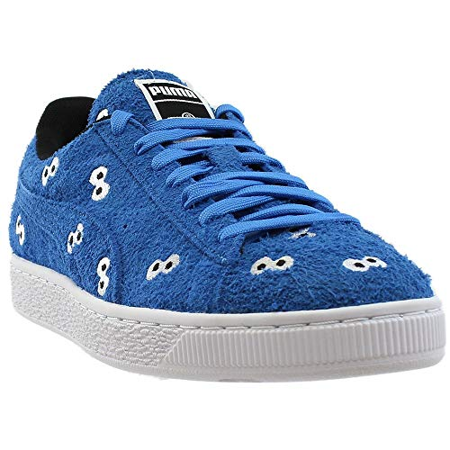 PUMA Select Men s x Sesame Street Suede Sneakers  French Blue  10 D M  US