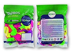 Globest- látex, Color surtidos (Globos Festival 50510)