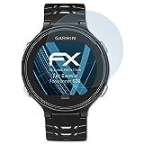 atFoliX Schutzfolie kompatibel mit Garmin Forerunner 630 Folie, ultraklare FX Bildschirmschutzfolie (3X)