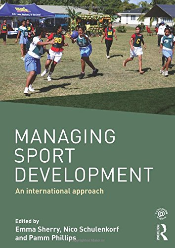 management of sport development Areas of study include sport for all, social theory, sport, community and diversity (gender, race, ethnicity, religion and disability), sport and event management, sport education, leadership, social entrepreneurship, youth development, athlete welfare, research in sport and physical activity.