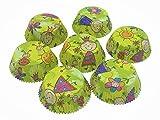 Muffin Backformen   Cupcakes Papierförmchen   Muffinförmchen 60 Stück 50 x 25 mm   Prinzessin Sophie und Prinz Max