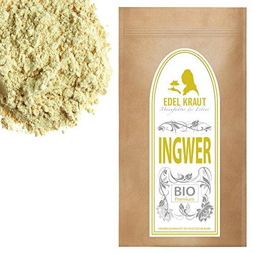 EDEL KRAUT | BIO INGWER GEMAHLEN Premium Ginger Powder Organic 1000g