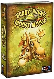 """Czech Games Edition cge00008""""Bunny Coniglietto Moose Moose"""" gioco da tavolo"""
