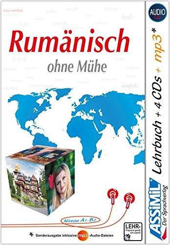 ASSiMiL Rumänisch ohne Mühe: Selbstlernkurs für Deutsche - Lehrbuch + 4 Audio-CDs + 1 mp3-CD