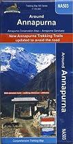 Trekking Map NA 503 Around Annapurna 1:125,000 Nepamaps