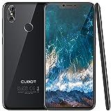 Cubot P20 (2018) Android 8.0 4G-LTE Dual Sim Smartphone ohne Vertrag, Ultra dünn 6.18″(19:9) In-cell screen FHD Display (2246×1080px) mit 4000 mAh Akku, 4GB Ram+64GB interner Speicher, 20MP Hauptkamera / 13MP Frontkamera, Octa-Core Prozessor MTK6750T, 0.1s Fingerprint Sensor, nutzbares GPS, Schwarz
