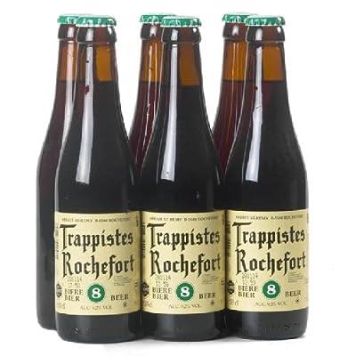 """Original belgisches Bier- Trappist Rochefort """"8"""" 9,2% vol 6x33cl. Karneval und Party!!"""