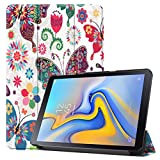 Sunnywill Custodia in Pelle FCD per Samsung Galaxy Tab Advanced 2 SM-T583 10.1in