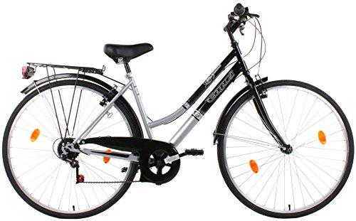 Bicicletta Citybike Donna misura 28'' telaio in acciaio trekking mod.Capri