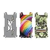 3pcs Cool Waterproof Stickers PVC Drone Body Skin Stickers pour DJI TELLO