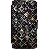Marvel DC Avengers Characters & Symbols Leather Flip Phone Case Cover - Wallet - For iPhone & Samsung's (Samsung Galaxy S7 Edge)