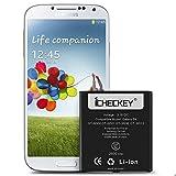 ICHECKEY 2600mAH batterie interne pour Samsung Galaxy S4 batterie B600BE d'origine de lithium-ion remplacement GT-I9500/GT-I9505/GT-I9506/GT-I9515 sans NFC