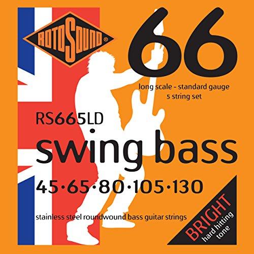 Rotosound RS 665LD Swing Bass E-Basssaiten 5-saiter Satz