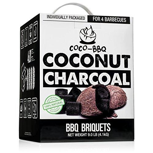 coco-bbq Umweltfreundlich Grill-Holzkohle aus kokosnußschalen für Niedriger und langsam Grillen