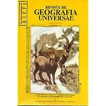 REVISTA DE GEOGRAFÍA UNIVERSAL. Año 2. Vol. 4. Nº 5. Cabra montés, Praga, Cambios en el paisaje, El caracol, Llamadores de la lluvia...
